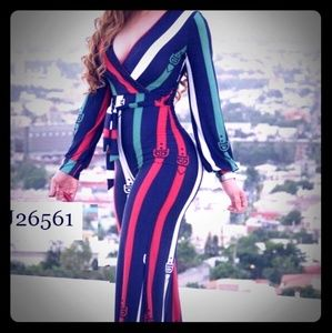 LIKE NEW Striped Jumpsuit - WORN ONLY ONCE